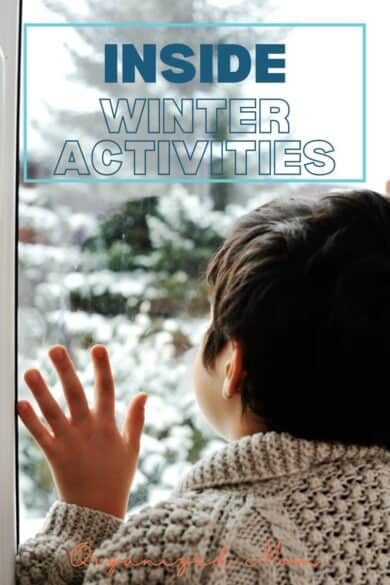 inside winter activities for kids and toddlers