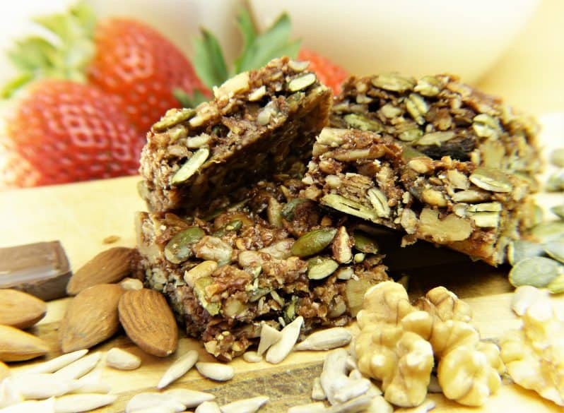 granola bars ideas for lunches