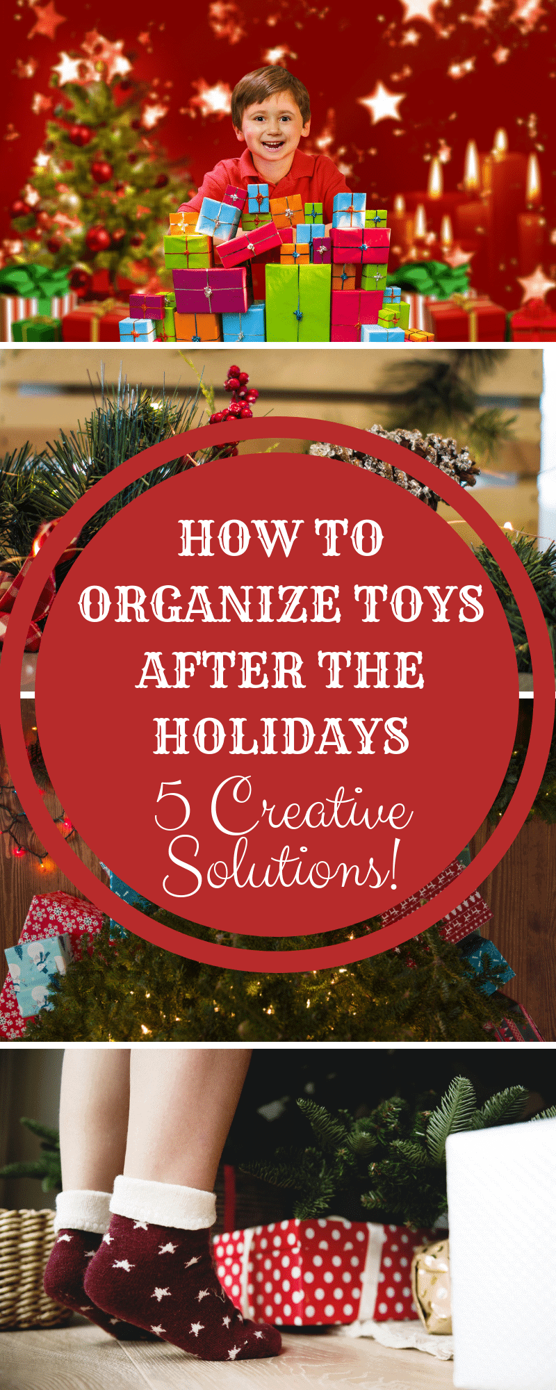 How to Organize Toys After the Holidays