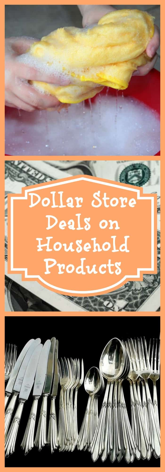 Dollar Store Deals on Household Products