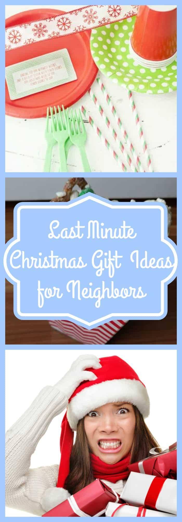 Last Minute Christmas Gift Ideas for Neighbors