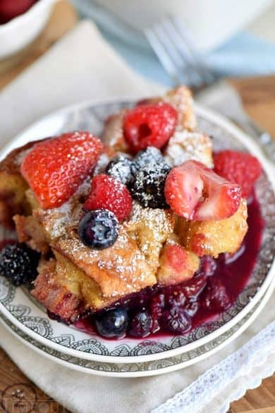 different kinds of french toast