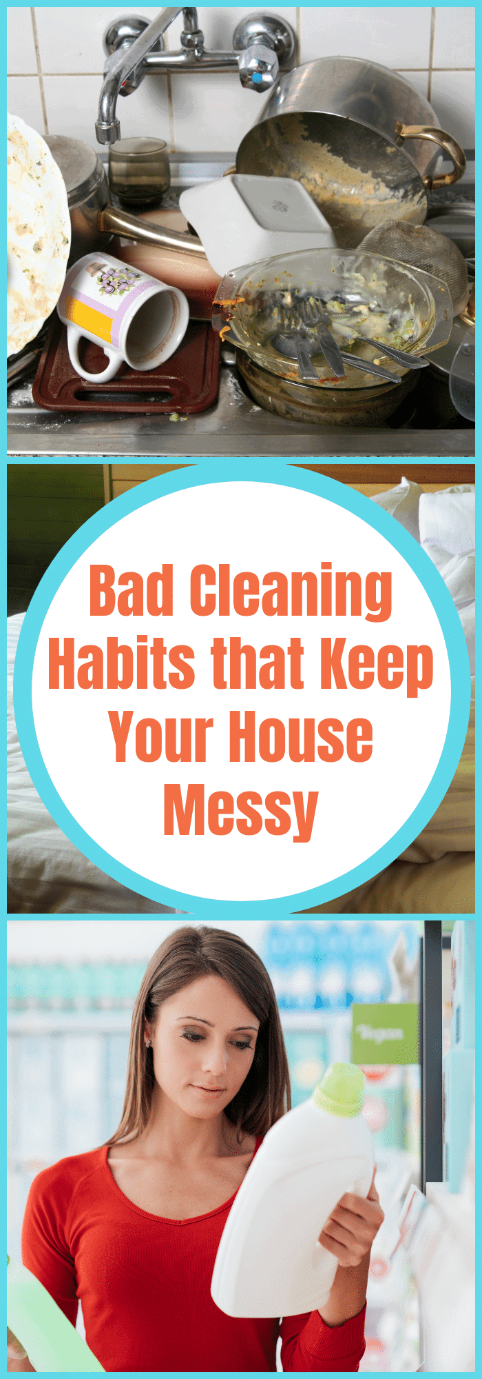 Bad Cleaning Habits that Keep Your House Messy