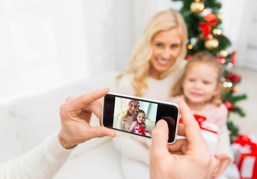 DIY Family Pictures with Smartphone