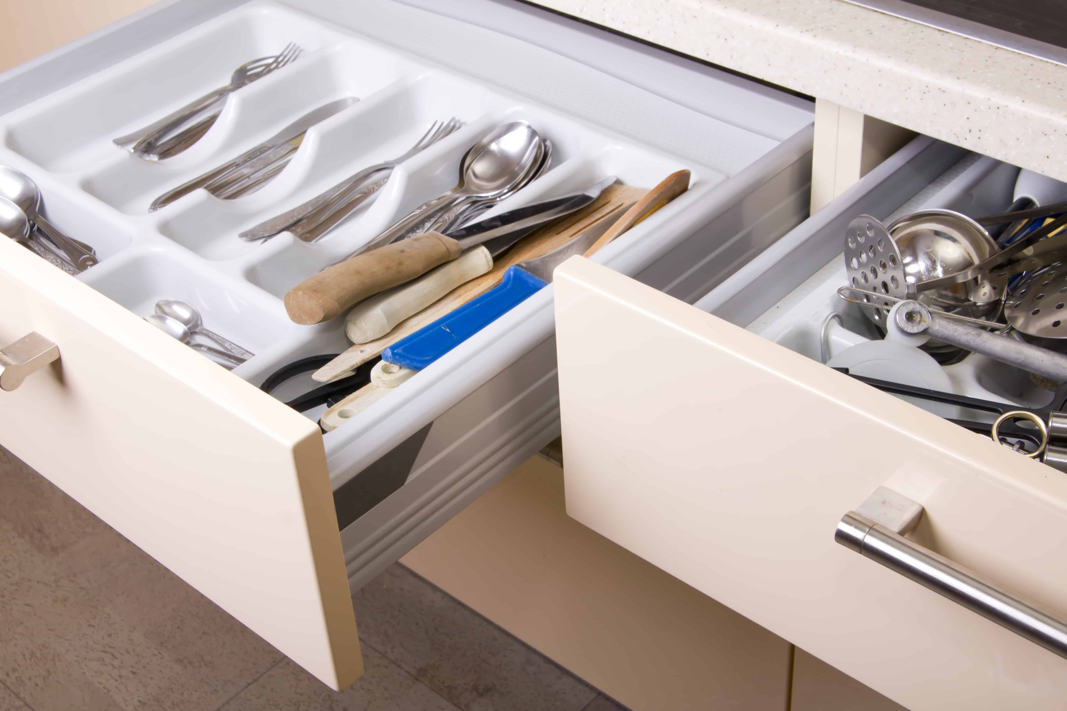 Utensil drawer youre forgetting to clean