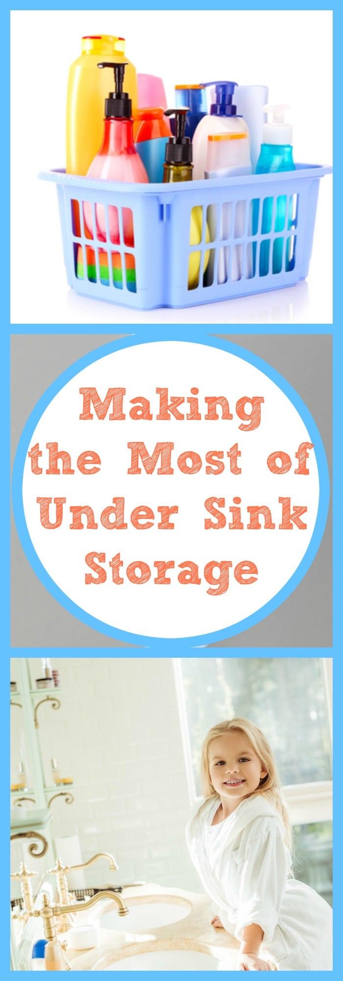 Making the Most of Under Sink Storage