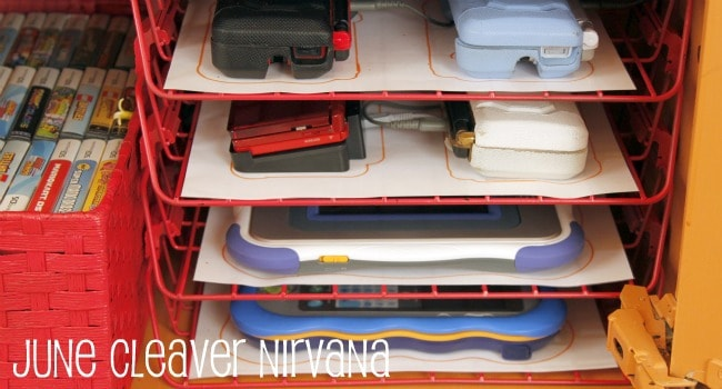 organize electronics