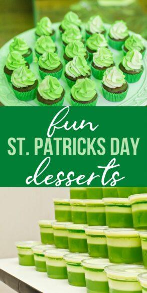 fun st patricks day desserts