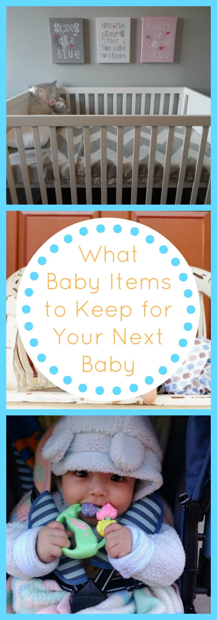 What Baby Items to Keep for Your Next Baby