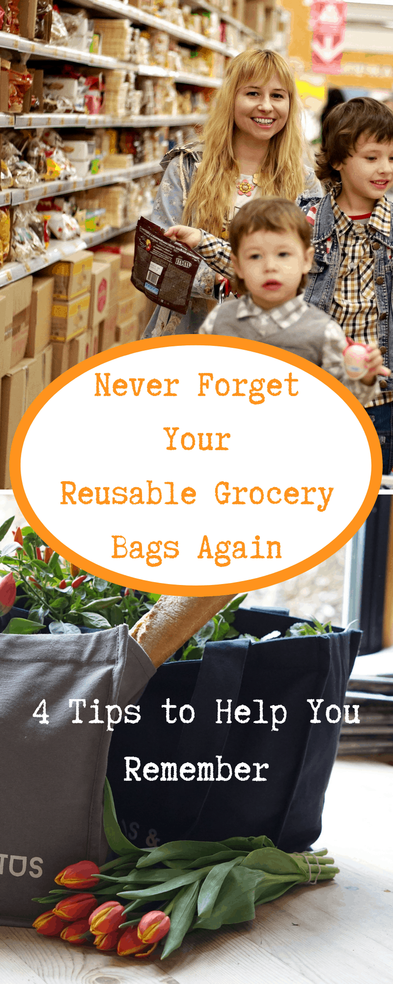 Never Forget Your Reusable Store Bags Again