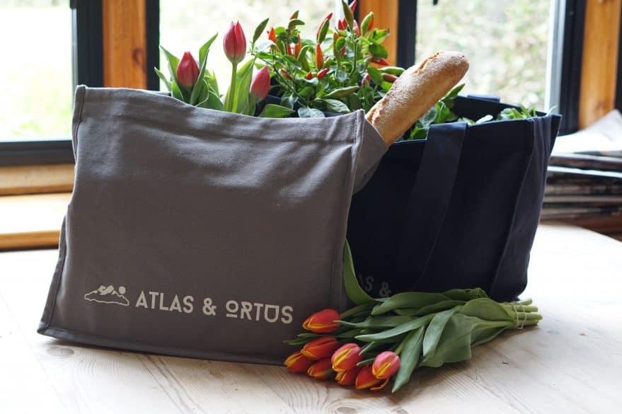 Reusable grocery bags