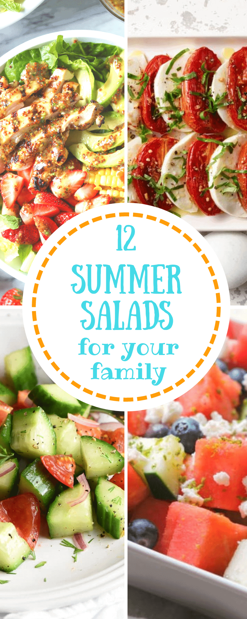 Healthy Summer Salads for Your Family