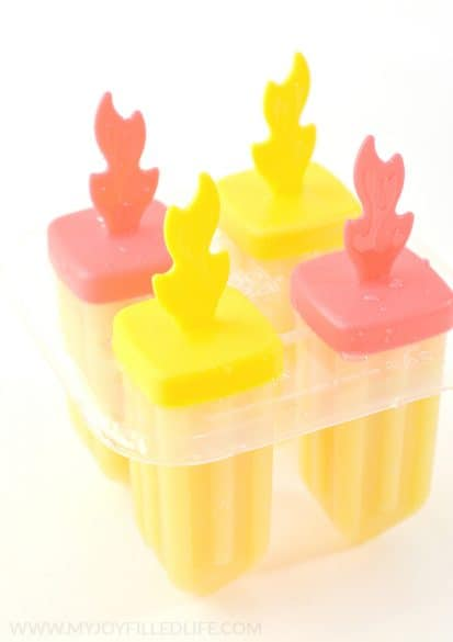 hidden veggie popsicles
