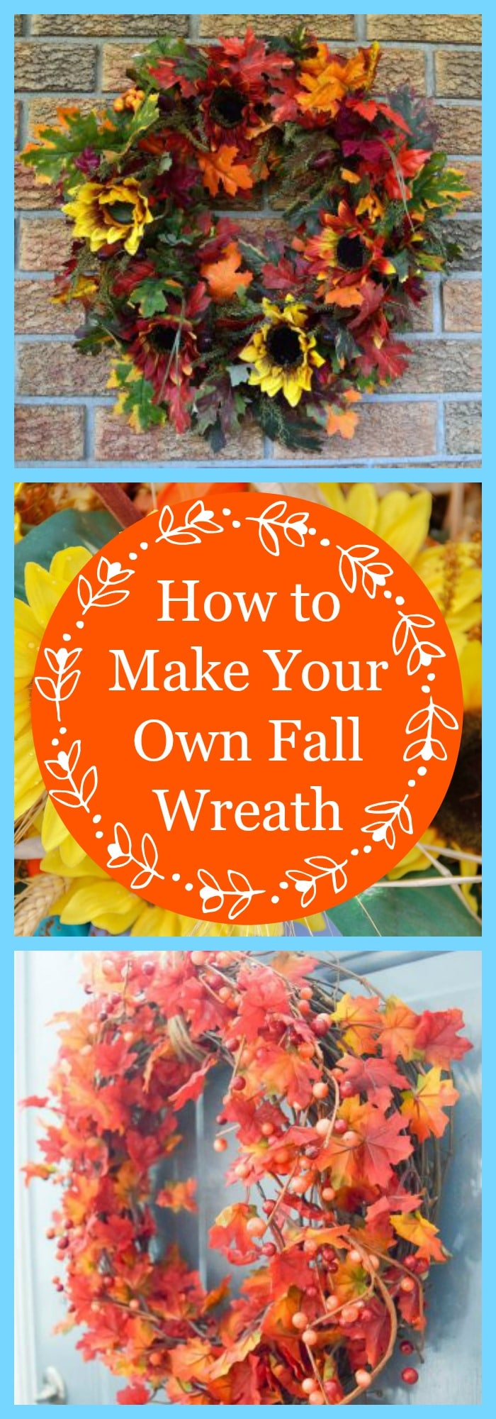 How to Make Your Own Fall Wreath