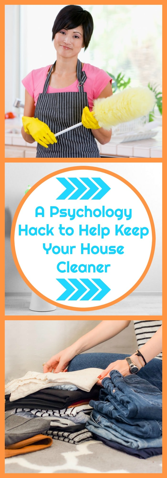 A Psychology Hack to Help Keep Your House Cleaner