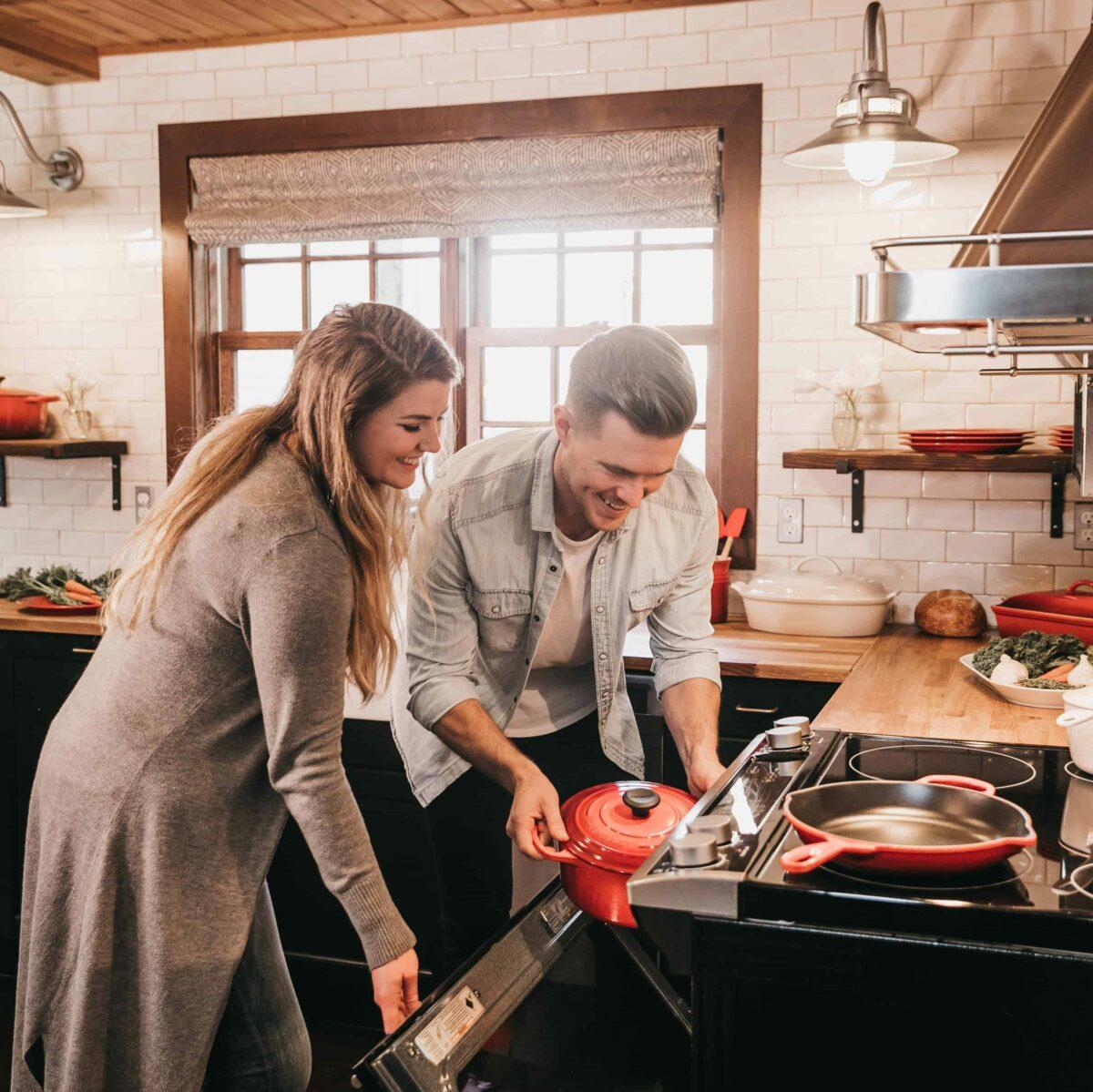 deep cleaning kitchen appliances