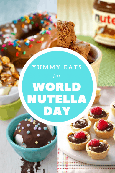 Yummy Eats for World Nutella Day