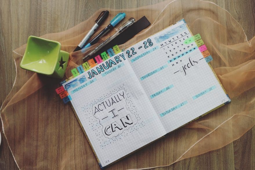 benefits of using a paper planner