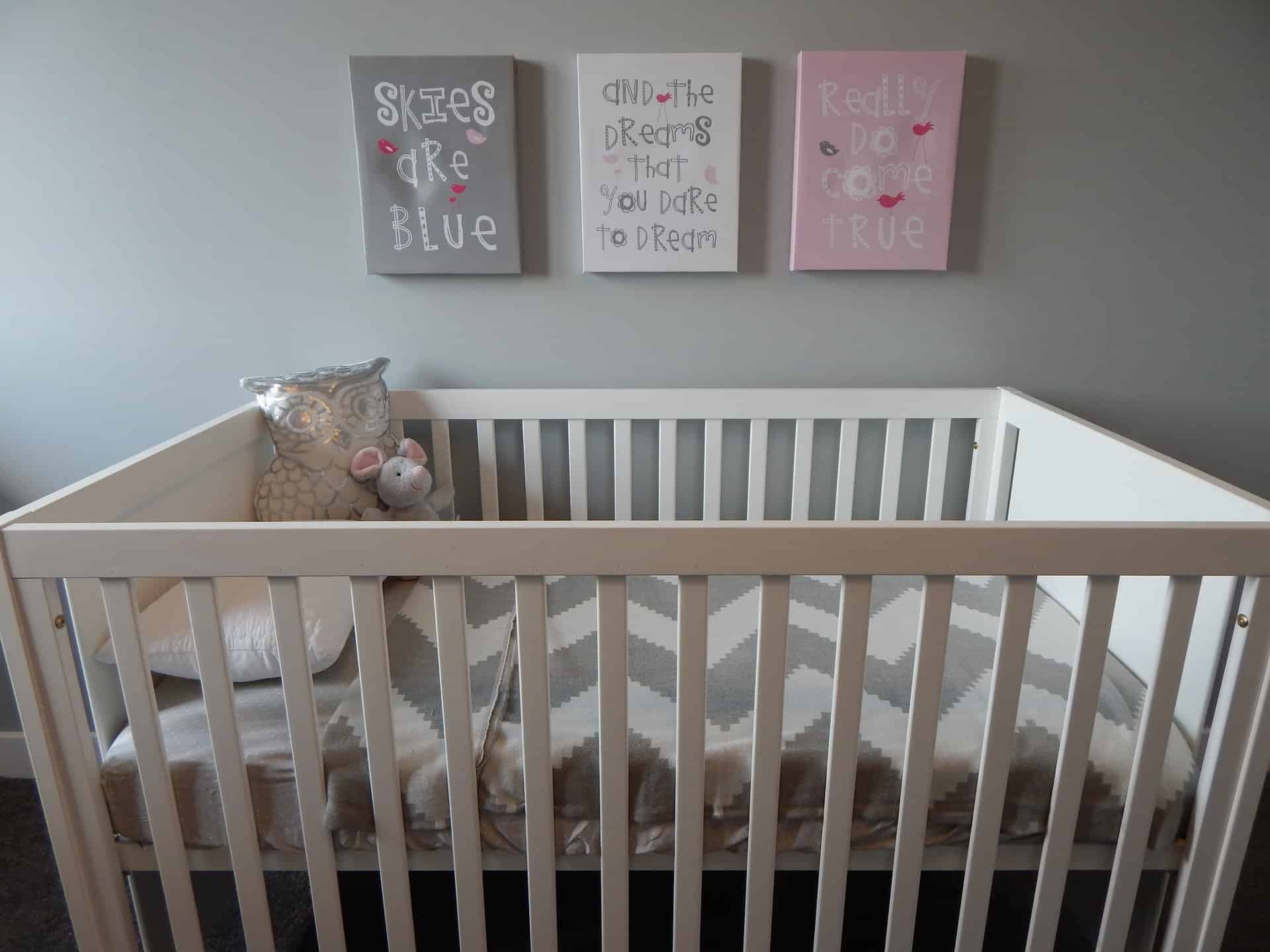 items to declutter when you're planning on another baby