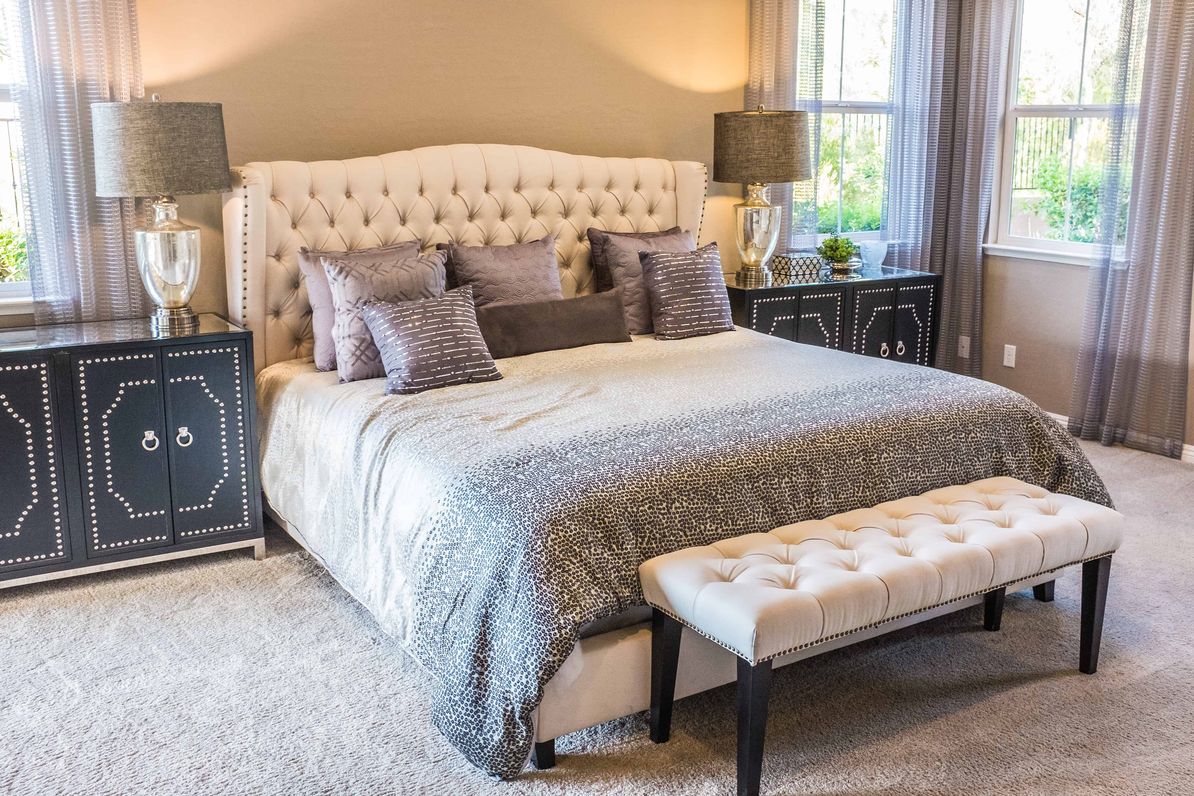 creating a relaxing master bedroom