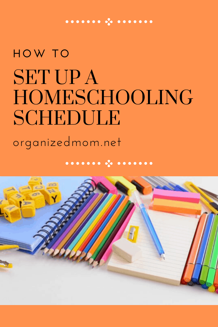 How to Set Up a Homeschooling Schedule