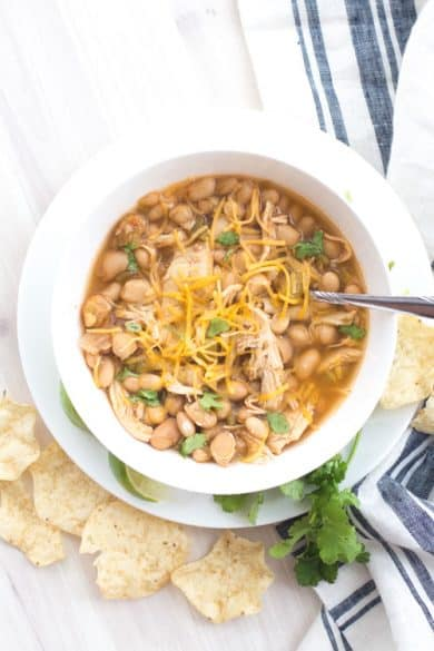 freezable meals-white chicken chili