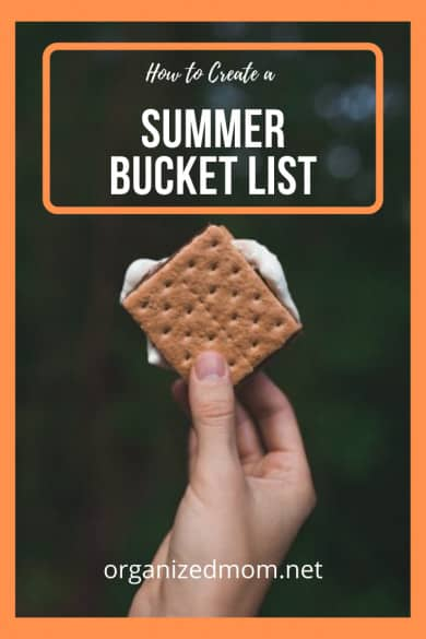 How to Create a Summer Bucket List