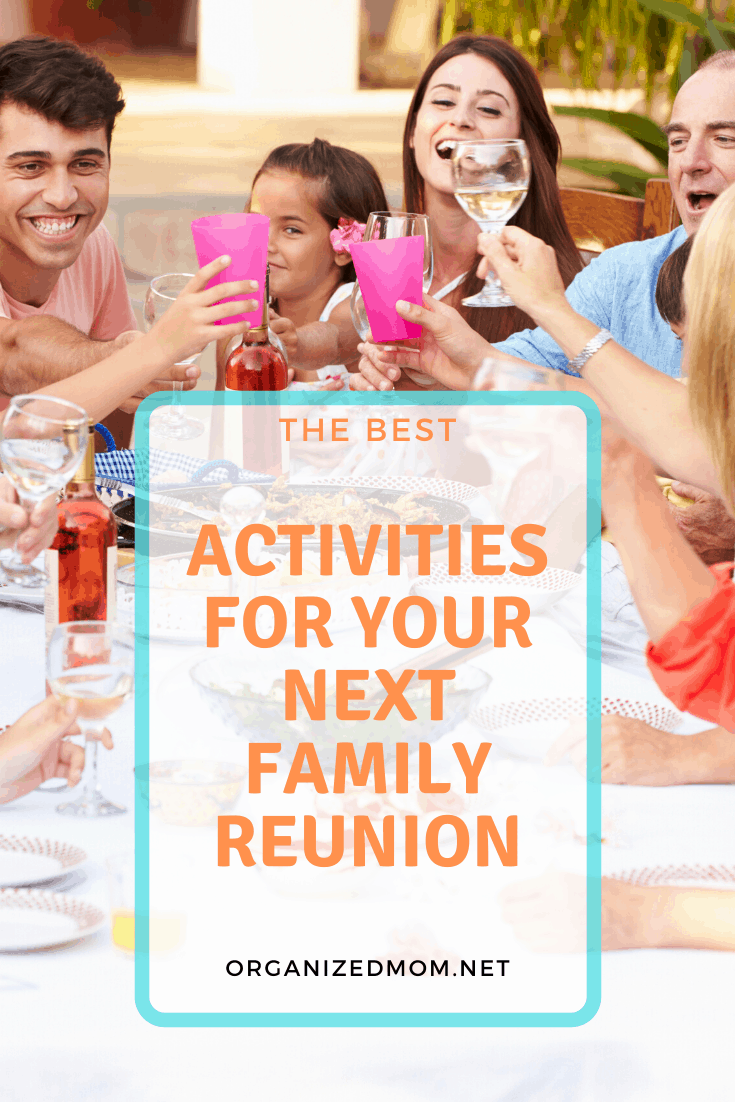 activities for family reunion