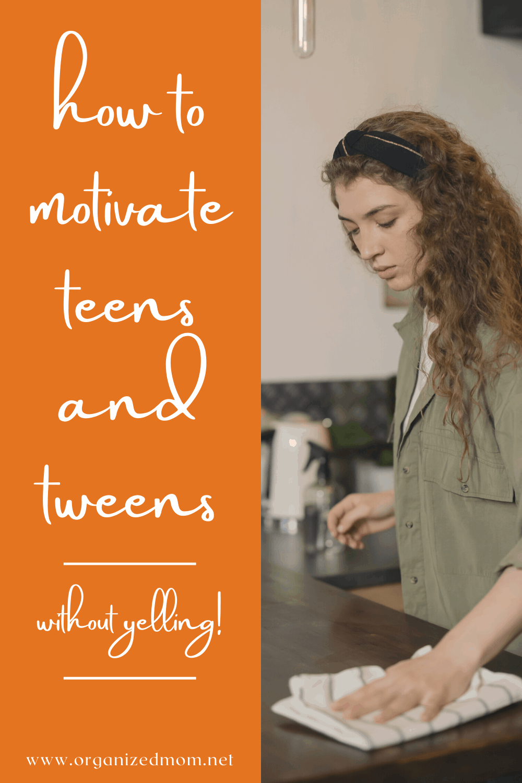 teens and tweens chores