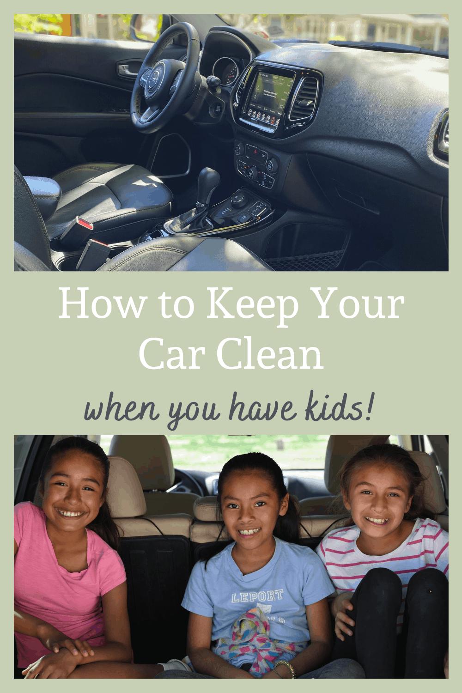 clean car interior