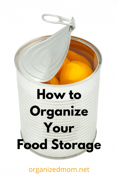 How to Organize Your Food Storage