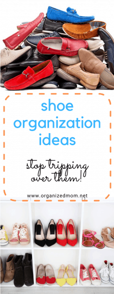 Shoe Organization Ideas Stop Tripping Over them!