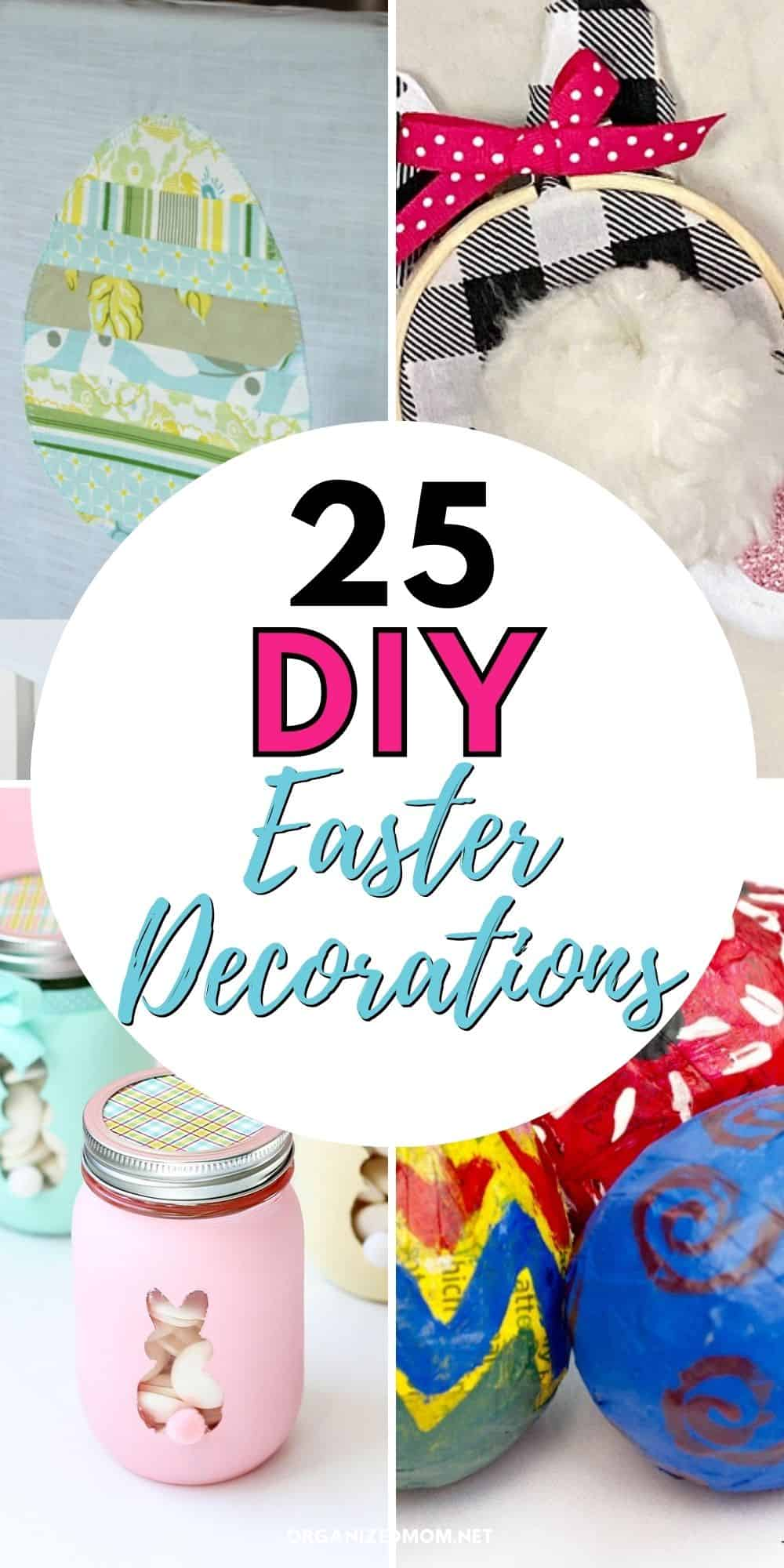 25 diy easter decorations