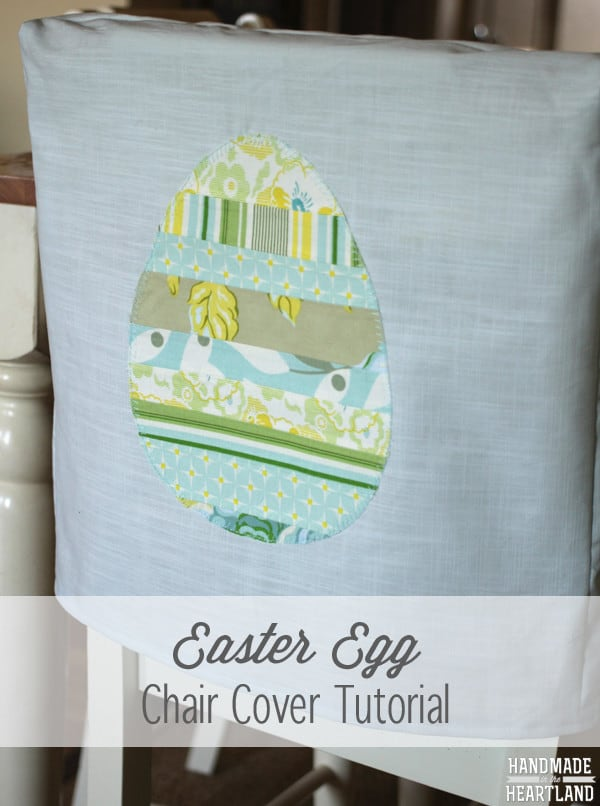 diy easter decoration chair cover