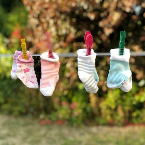 baby socks how to organize baby clothes