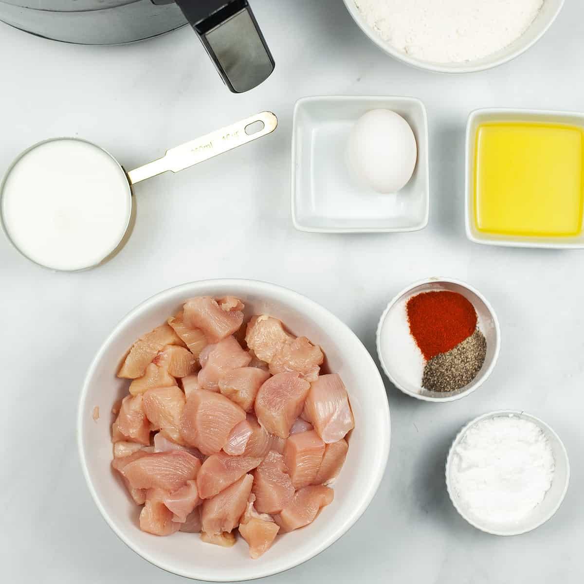 how to make gluten free chicken nuggets