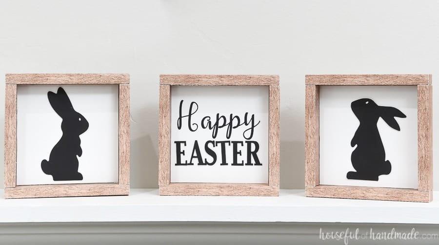 diy easter decoration signs