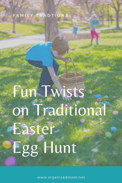 traditional Easter egg hunt