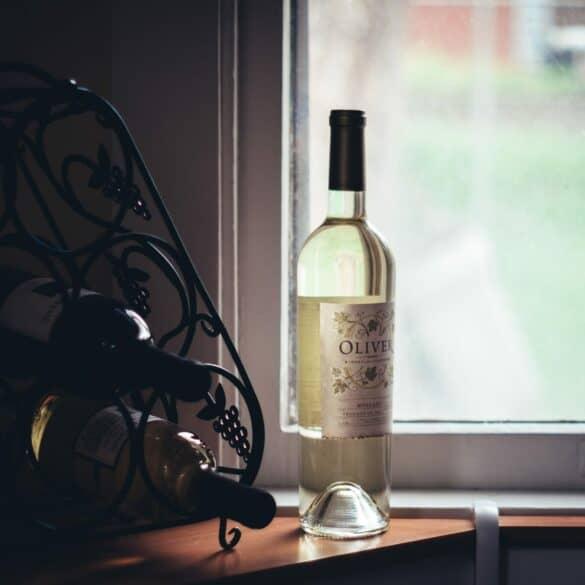 wine bottle organization