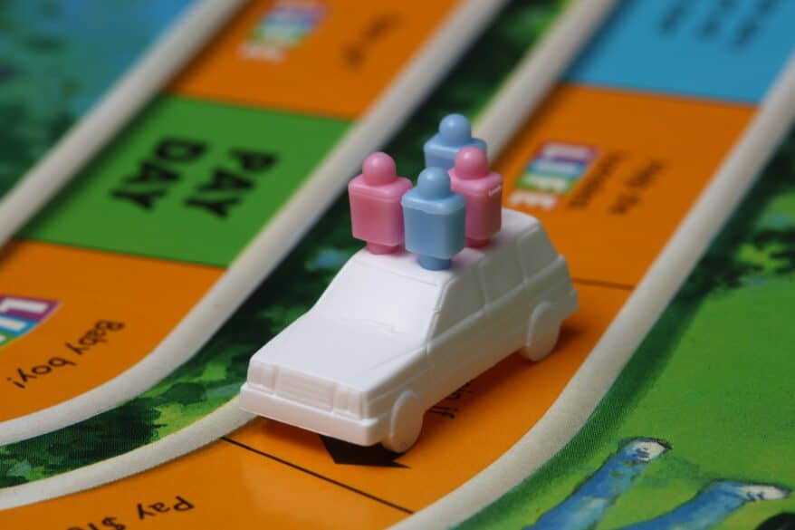 game of life tips for organizing board games