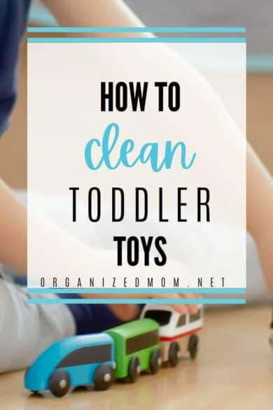 clean toddler toys