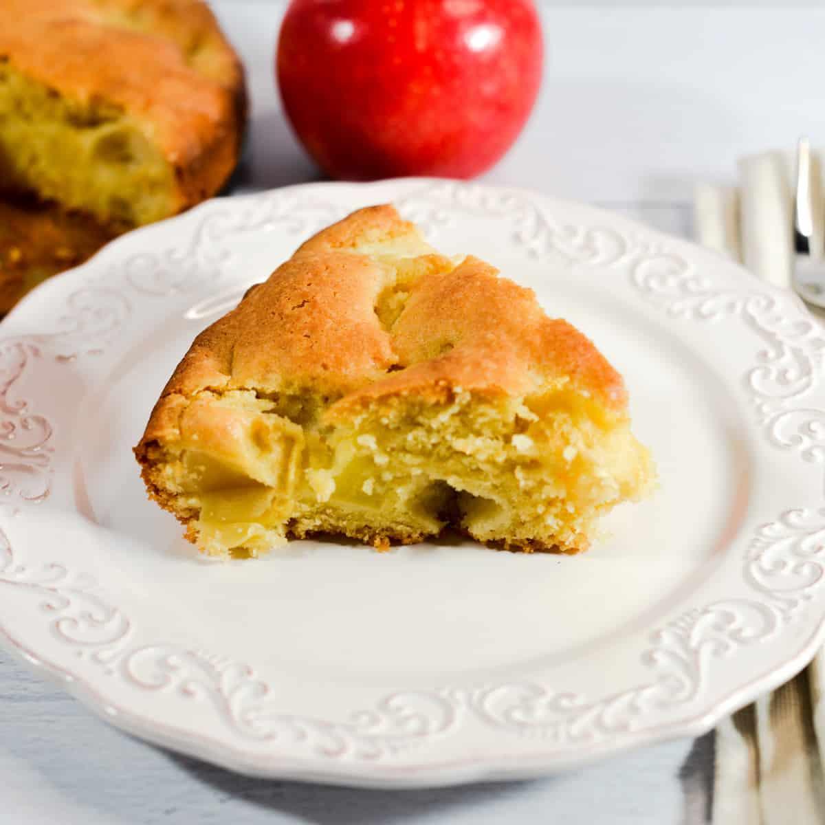 dairy free apple cake gluten free
