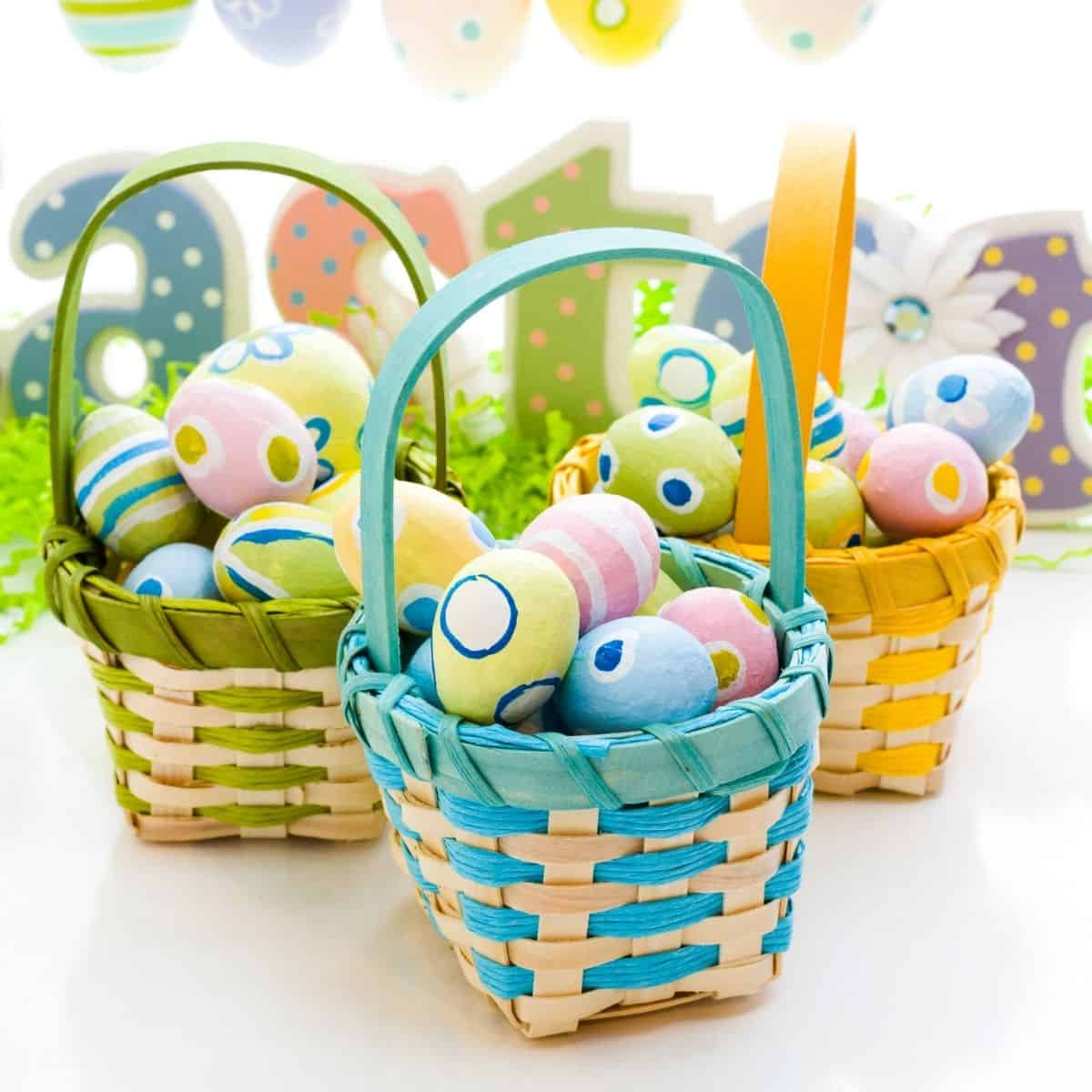 how to make a Easter Basket