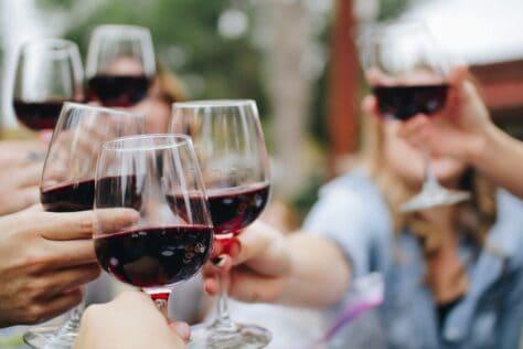 wine bottle organization ideas