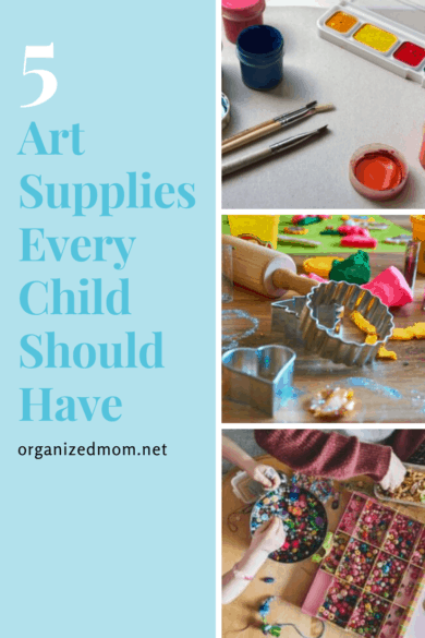 art supplies every child should have