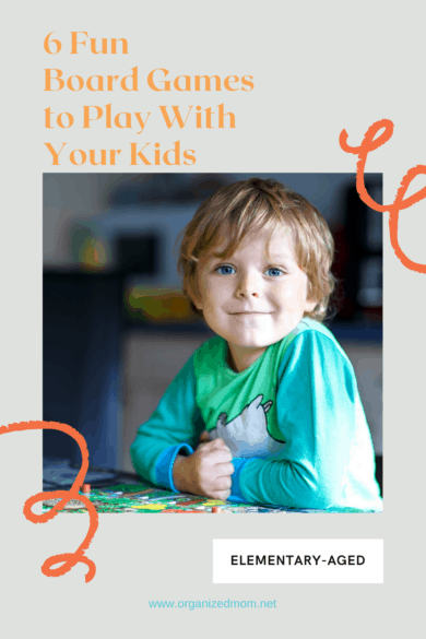 6 Fun Board Games to Play with Your Kids