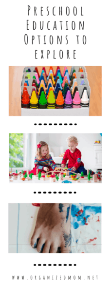 Preschool Education Options to Explore