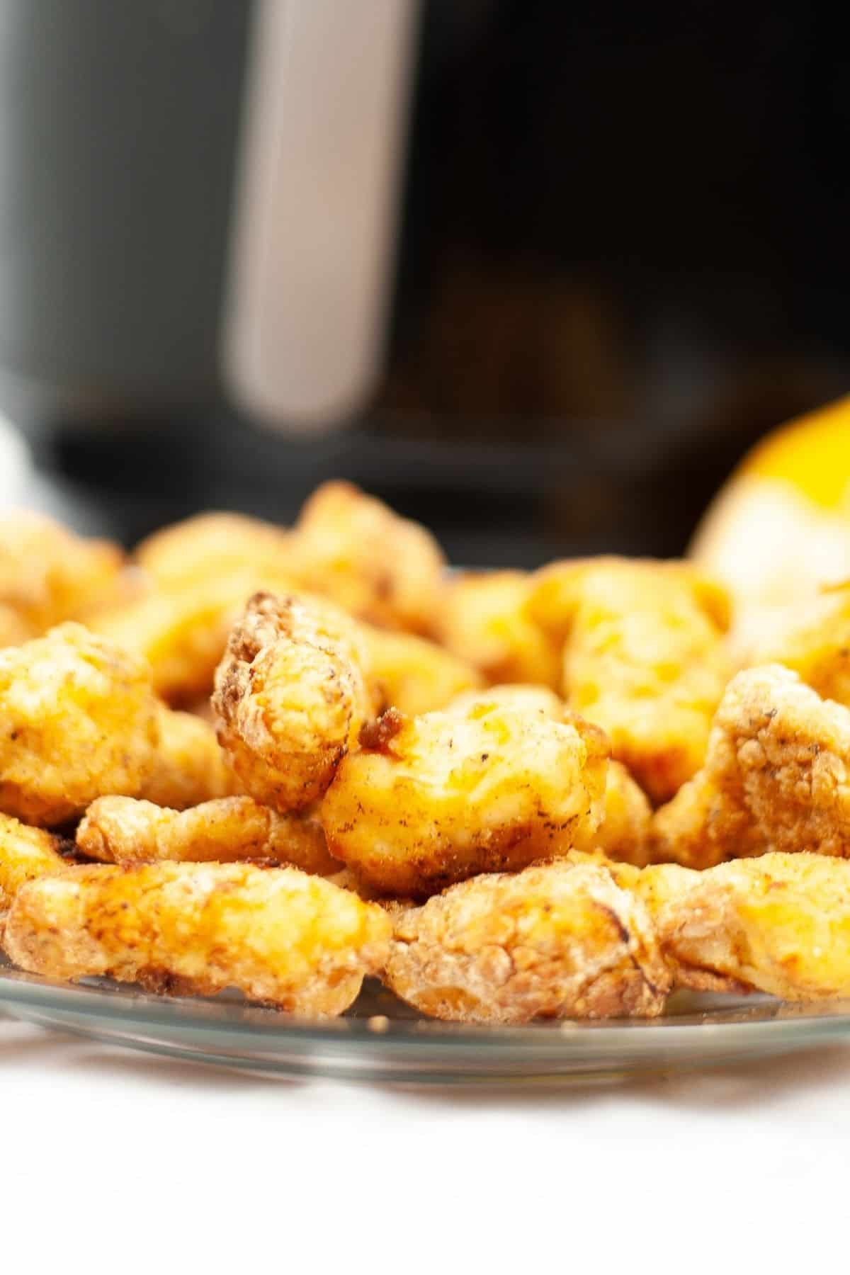 homemade chicken nuggets in air fryer