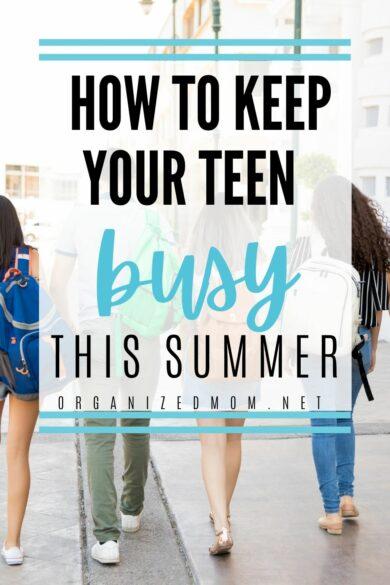 teens in summer