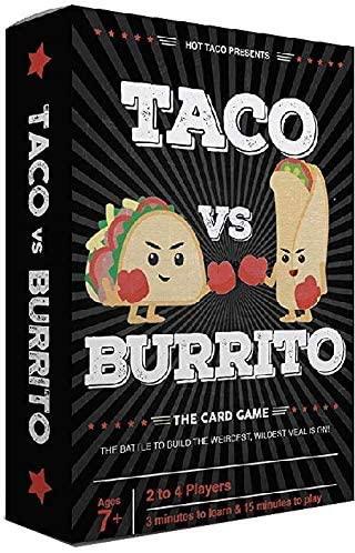 Box of the card game Taco VS Burrito